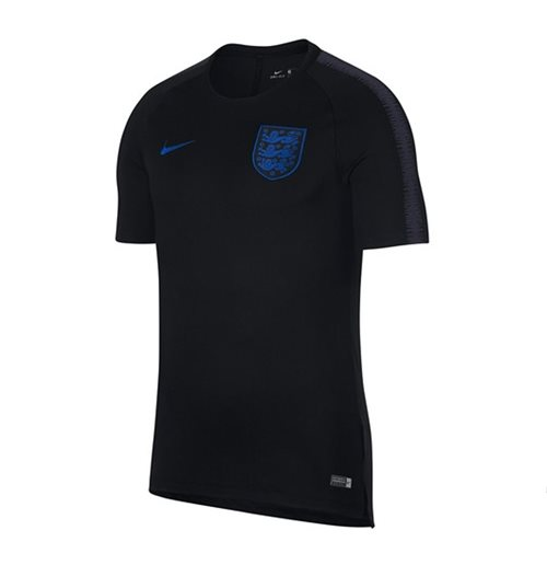 2018-2019 England Nike Training Shirt (Black) - Kids