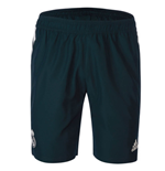 2018-2019 Real Madrid Adidas Woven Shorts (Dark Grey)