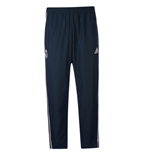 2018-2019 Real Madrid Adidas Woven Pants (Dark Grey)