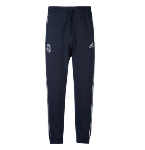 2018-2019 Real Madrid Adidas Training Sweat Pants (Dark Grey)