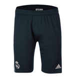 2018-2019 Real Madrid Adidas Training Shorts (Dark Grey) - Kids