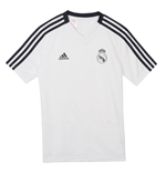 2018-2019 Real Madrid Adidas Training Shirt (White) - Kids