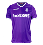 2018-2019 Stoke City Macron Away Football Shirt