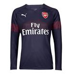 2018-2019 Arsenal Puma Away Long Sleeve Shirt
