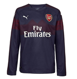 2018-2019 Arsenal Puma Away Long Sleeve Shirt (Kids)