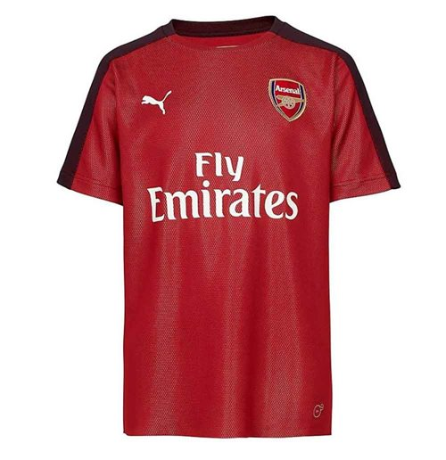 2018-2019 Arsenal Puma Stadium Jersey (Chilli Pepper) - Kids