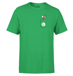 Nintendo T-Shirt Luigi Pocket