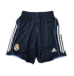 Real Madrid Adidas Away Football Shorts (Navy)