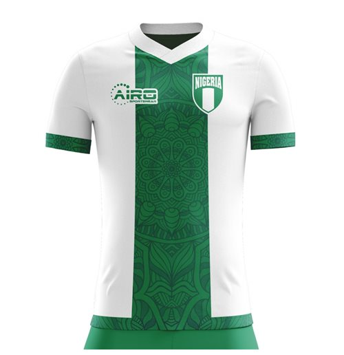 2018-2019 Nigeria Away Concept Football Shirt