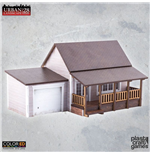 Urban Landscape ColorED Miniature Gaming Model Kit 28 mm Suburban House