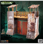 Malifaux ColorED Miniature Gaming Model Kit 32 mm Quarantine Zone - Gate