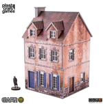 EWAR WWII ColorED Miniature Gaming Model Kit 28 mm Two-storey Building