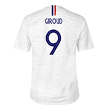 2018-2019 France Away Nike Football Shirt (Giroud 9) - Kids