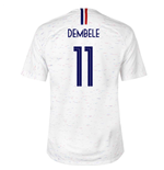 2018-2019 France Away Nike Football Shirt (Dembele 11) - Kids
