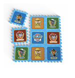 PAW PATROL Team Floor Mat Puzzle with 9 Pieces