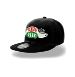 Friends - Central Perk Logo Snapback Cap - Headwear Black
