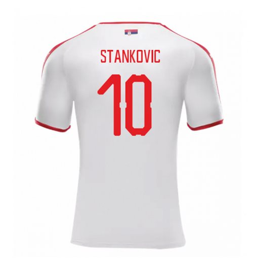2018-2019 Serbia Away Puma Football Shirt (Stankovic 10)