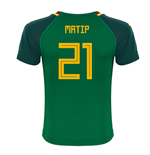 2018-19 Cameroon Home Shirt (Matip 21) - Kids