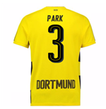 2017-18 Borussia Dortmund Home Short Sleeve Shirt (Park 3)