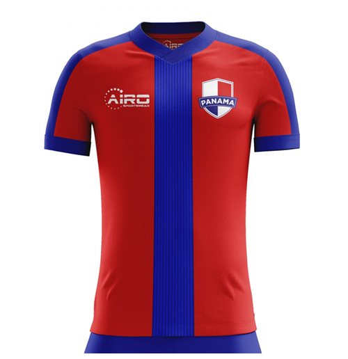 2018-2019 Panama Home Concept Football Shirt