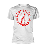 Stiff Little Fingers T-shirt Digits (WHITE)