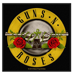 Guns N' Roses Standard Patch: Bullet Logo (Packed)