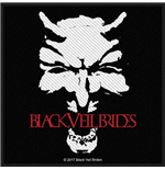 Black Veil Brides Standard Patch: Devil (Packed)
