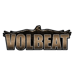 Volbeat Standard Patch: Raven Logo Cut-out (Packed)