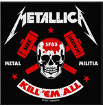 Metallica Standard Patch: Metal Militia (Loose)