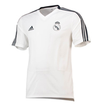 2018-2019 Real Madrid Adidas Training Shirt (White)