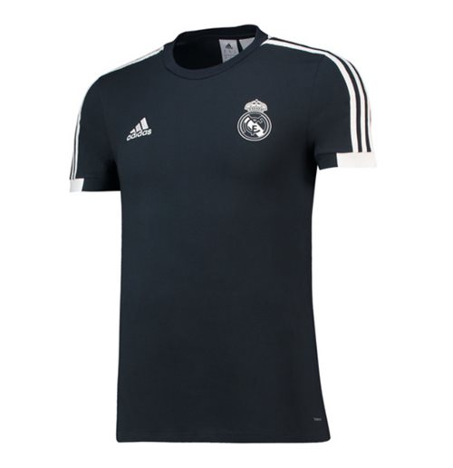 2018-2019 Real Madrid Adidas Training Tee (Dark Grey)