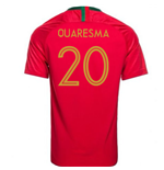 2018-2019 Portugal Home Nike Football Shirt (Quaresma 20)
