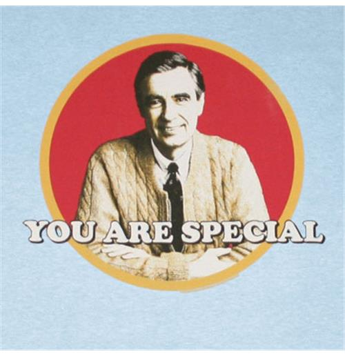 Official Mister Rogers You Are Special T Shirt Buy Online On Offer