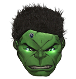 Hulk Cushion 302891