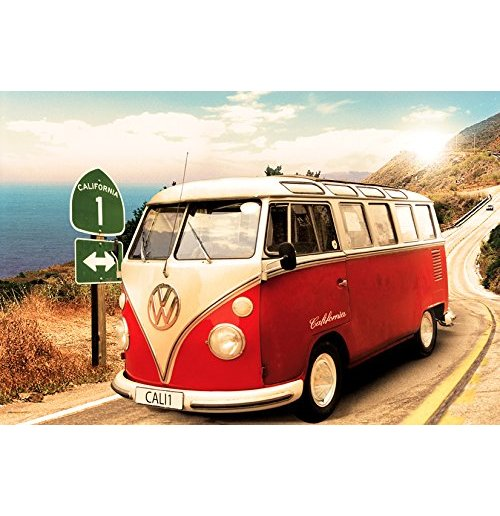 Volkswagen Camper - Route One Maxi Poster (61x91,5 Cm)