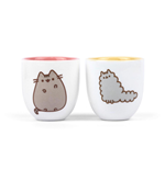 Pusheen Egg Cup 2 Pack Stormy & Pusheen