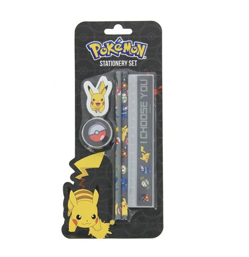 Pokemon Stationery Set I Choose You