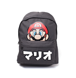 Nintendo - Super Mario Japanese Text Placed Printed Backpack