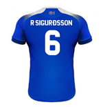 2018-2019 Iceland Home Errea Football Shirt (R Sigurdsson 6)