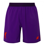 2018-2019 Liverpool Away Shorts (Purple) - Kids