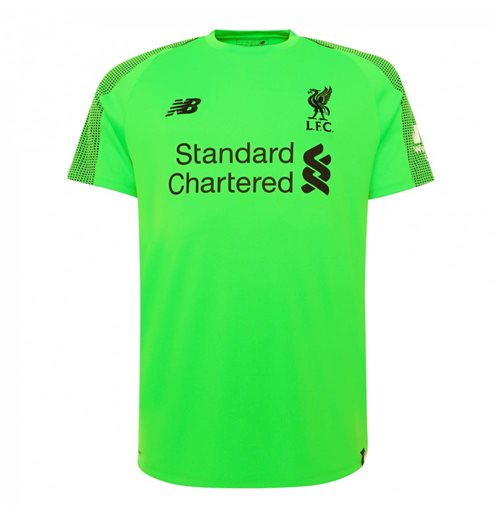 2018-2019 Liverpool Away Goalkeeper Mini Kit