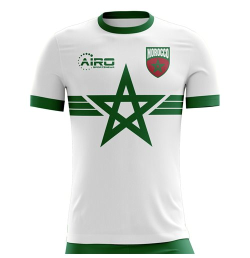 2018-2019 Morocco Away Concept Football Shirt (Kids)