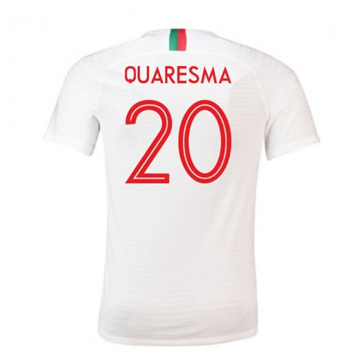 2018-2019 Portugal Away Nike Football Shirt (Quaresma 20) - Kids