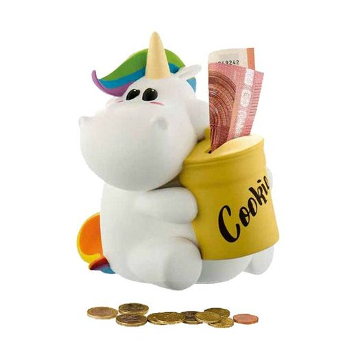 Chubby Unicorn Money Bank Chubby Unicorn 16 cm