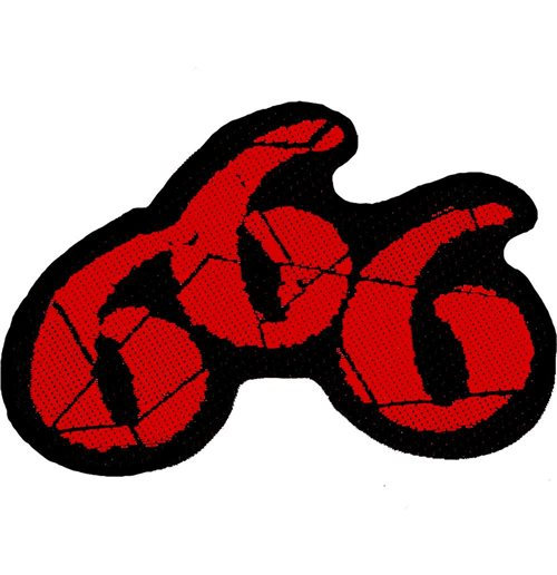 Generic Standard Patch: 666 Cut-Out (Loose)