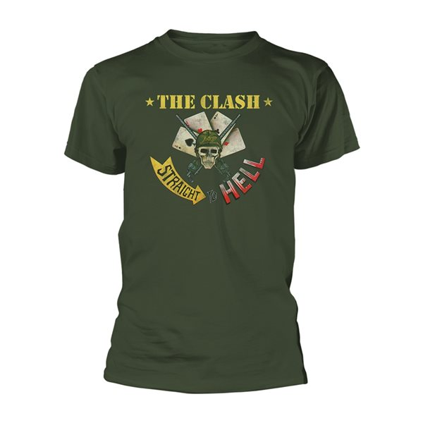 CLASH, The T-shirt Straight Aces
