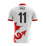 2018-2019 Wales Airo Concept Away Shirt (Bale 11) - Kids