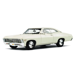 CHEVROLET IMPALA 2 DOORS COUPE' ERMINE WHITE 1967
