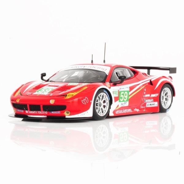 Buy FERRARI 458 ITALIA GTE PRO #59 TEAM LUXURY 2ND PLACE