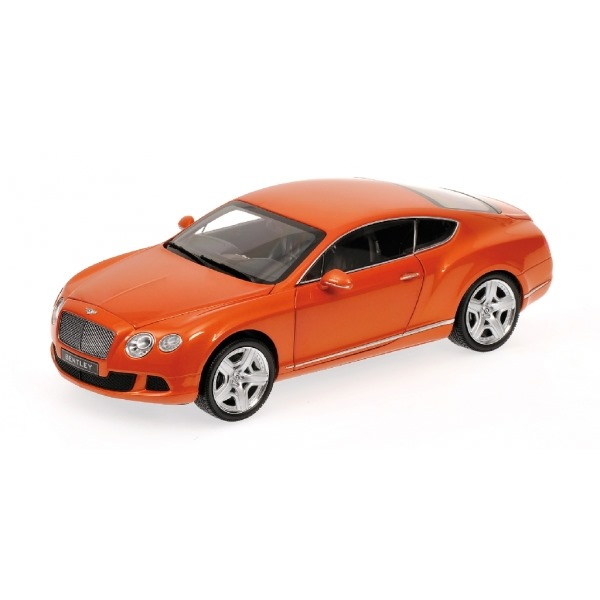 BENTLEY CONTINENTAL GT 2011 ORANGE METALLIC